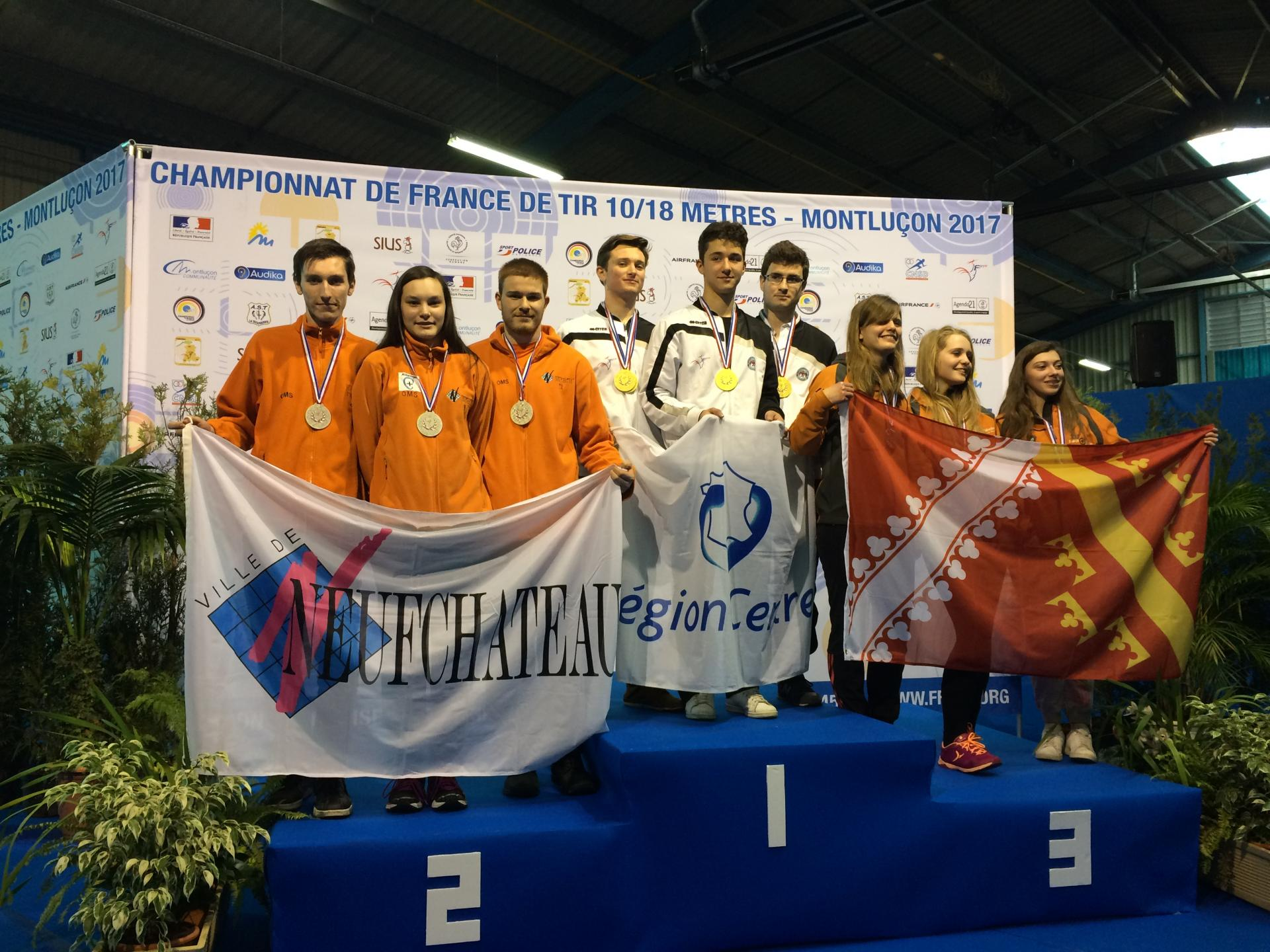 Vice Champion de France Arbalète Junior 2017